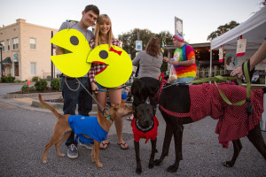 Be sure you are aware of the behavior of other people's dogs. Halloween can be a very stressful time for some dogs.