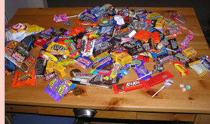 The most widely recognized source is candy and gum